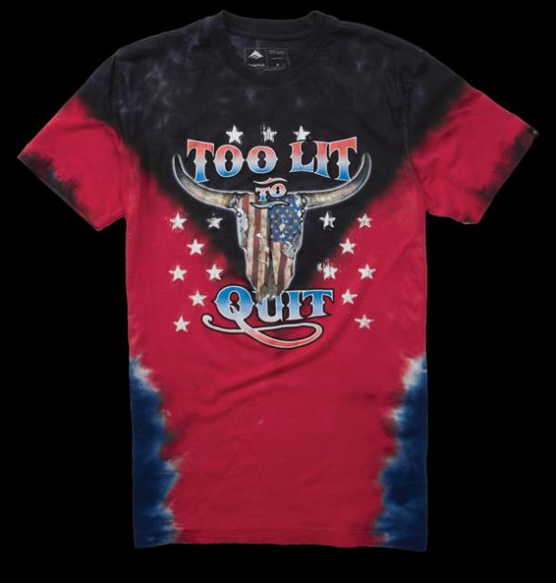 Pánské triko Emerica Pit Stop T 2018