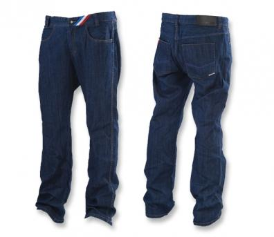 Kalhoty Meatfly Le Mans Jeans m - blue B