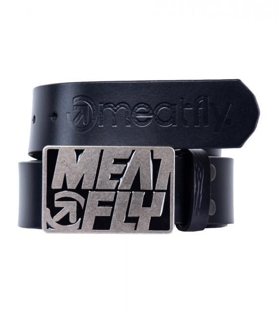 Pásek MeatFly Butch Leather 13/14