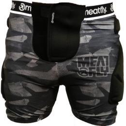 Chránič Meatfly Impact Shorts 15/16 - A-Black