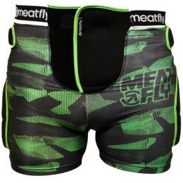 Chránič Meatfly Impact Shorts 15/16 - C-Green