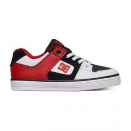 boty DC Pure Elastic 16/17 - white/black/red