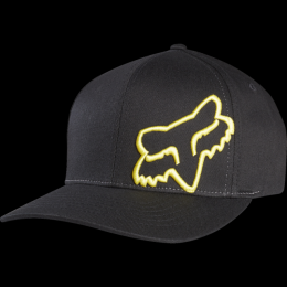 Kšiltovka Fox Flex 45 Flexfit 17/18 Black/Yellow