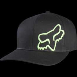 Kšiltovka Fox Flex 45 Flexfit 17/18 Black/Green