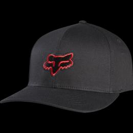 Kšiltovka Fox Legacy Flexfit 17/18 Black/Red