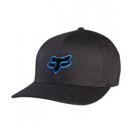 Kšiltovka Fox Legacy Flexfit 17/18 Black/Blue