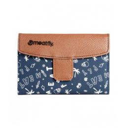 Peněženka Meatfly Madeline Wallet 16/17 - F - Brown / Blue