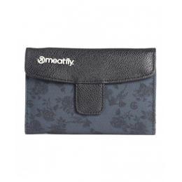 Peněženka Meatfly Madeline Wallet 16/17 D - Black / Decade Print