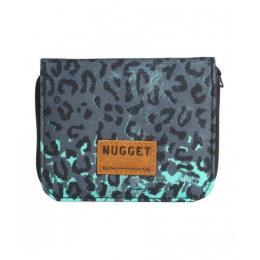 Peněženka Nugget Alicia Wallet 16/17 B - Leopard Mint