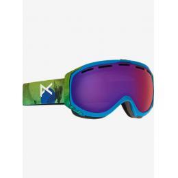 Snowboardové brýle Anon Hawkeye 16/17 Tatonka/Blue fusion