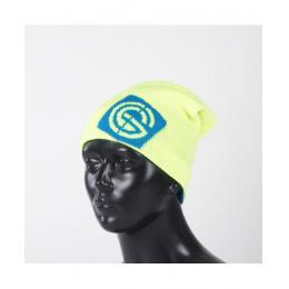 Zimní čepice Nugget  Logo 2 Reversibile Beanie 16/17 B - Safety Yellow