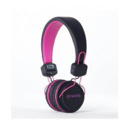 Sluchátka Meatfly Headphones Sambora II 16/17 Pink / Black