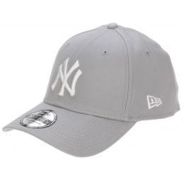 Kšiltovka New Era 3930 League Basic 16/17 - NY Yankees Grey