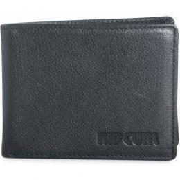 Peněženka Rip Curl Original Leather Wallet 2017 Black