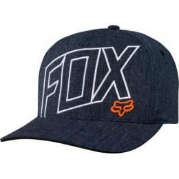 Kšiltovka Fox Three 60 Flexfit 17/18 Heather Midnight