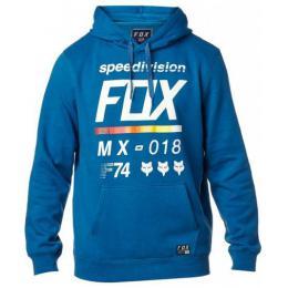 Mikina Fox District 2 Pullover Fleece 17/18 Dusty Blue