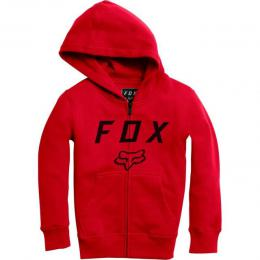 Mikina Fox Youth Legacy Moth Zip Fleece 17/18 Red