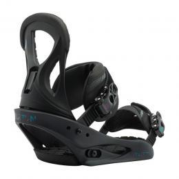 dámské snowboard vázání Burton Stiletto 17/18 - BLACK MATTE