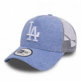 Kšiltovka New Era 940 Jersey Essential Trucker 17/18 Blue - LA Dodgers