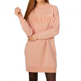 Mikina Volcom Burn City Fleece Dress 17/18 Mellow Rose
