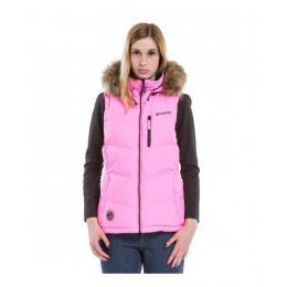Dámská  vesta Meatfly Fuzzy 2  Vest 18/19 B - Safety Pink