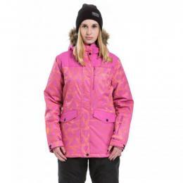 dámská zimní bunda Meatfly Chelsea2 17/18 C-Rose Triangle Print, Rose