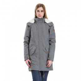 Dámská bunda Meatfly Mia Parka 17/18 - A-Grey Heather