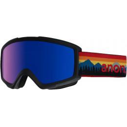 zimní brýle na snowboard Anon Helix 2.0 17/18 Range Orange/Blue Cobalt