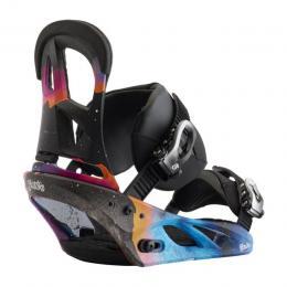 dámské snowboard vázání Burton Scribe 17/18 - NORTHERN LIGHTS