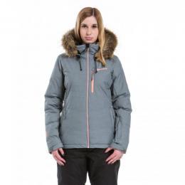 dámská zimní bunda Meatfly Fluffy 2 Jacket 17/18 - B-Dark Grey Heather