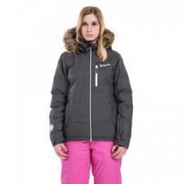 dámská zimní bunda Meatfly Fluffy 2 Jacket 17/18 - E-Black Heather