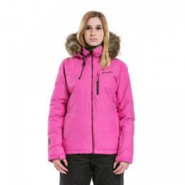 dámská zimní bunda Meatfly Fluffy 2 Jacket 17/18 - A-Rose Heather