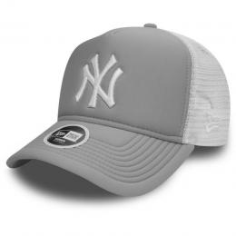 kšiltovka New Era Essential Trucker 2018 NY white grey