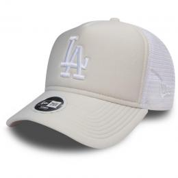 kšiltovka New Era Essential Trucker 2018 LA white
