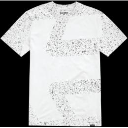 Pánské triko Etnies Speckle Icon SS TEE 2018 White
