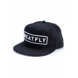 Kšiltovka Meatfly Spon Snapback 2018 B - Black