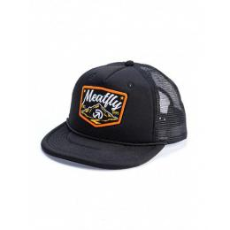 Kšiltovka Meatfly Clancy Trucker 2018 A - Black