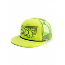 Kšiltovka Nugget Grid Trucker 2018 A - Safety Yellow