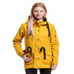 dámská bunda Meatfly Lana Cotton Jacket 2018 C - Mustard