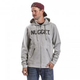 Mikina Nugget Typer 2 Hoodie 18/19 B - Ht.Gray