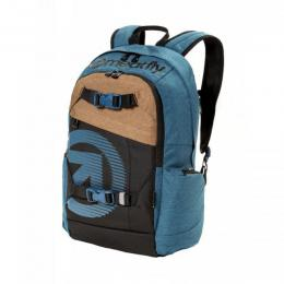 batoh Meatfly Basejumper 4 Backpack 18/19 A-Heather Petrol, Black