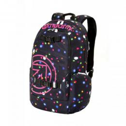batoh Meatfly Basejumper 4 Backpack 18/19 B-Lights Neon