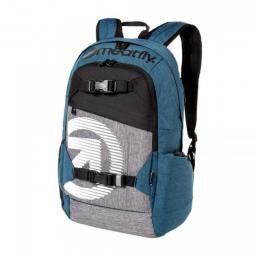batoh Meatfly Basejumper 4 Backpack 18/19 N-Ht. Petrpl, Ht. Grey
