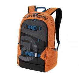 batoh Meatfly Basejumper 4 Backpack 18/19 M- Ht. Brown Oak, Black