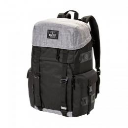 batoh Meatfly Scintilla Backpack 18/19 C - Black, Heather Grey