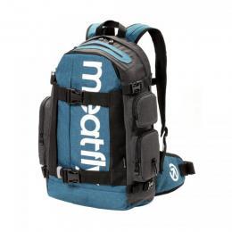Batoh Meatfly Wanderer 4 Backpack 18/19 - C - Ht. Petrol, Dark Ht. Grey
