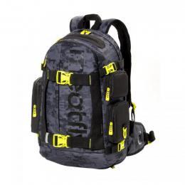 Batoh Meatfly Wanderer 4 Backpack 18/19 - D - Binary Camo Grey