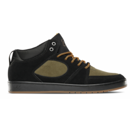 Boty És Accel Slim Mid 18/19 Black Noir/Brown Brun