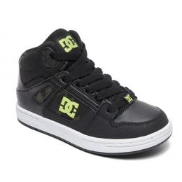 Dětské boty DC Pure High-Top SE 18/19 - Black/Camo