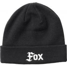 Čepice Fox Flat Track Beanie 18/19 - Black